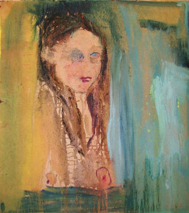 Girl with blue eye - Sarah Lederman 2011
