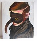 Untitled (Masked Boy) - Sharon McPhee 2008