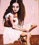 Untitled (sitting girl) - Sharon McPhee 2008
